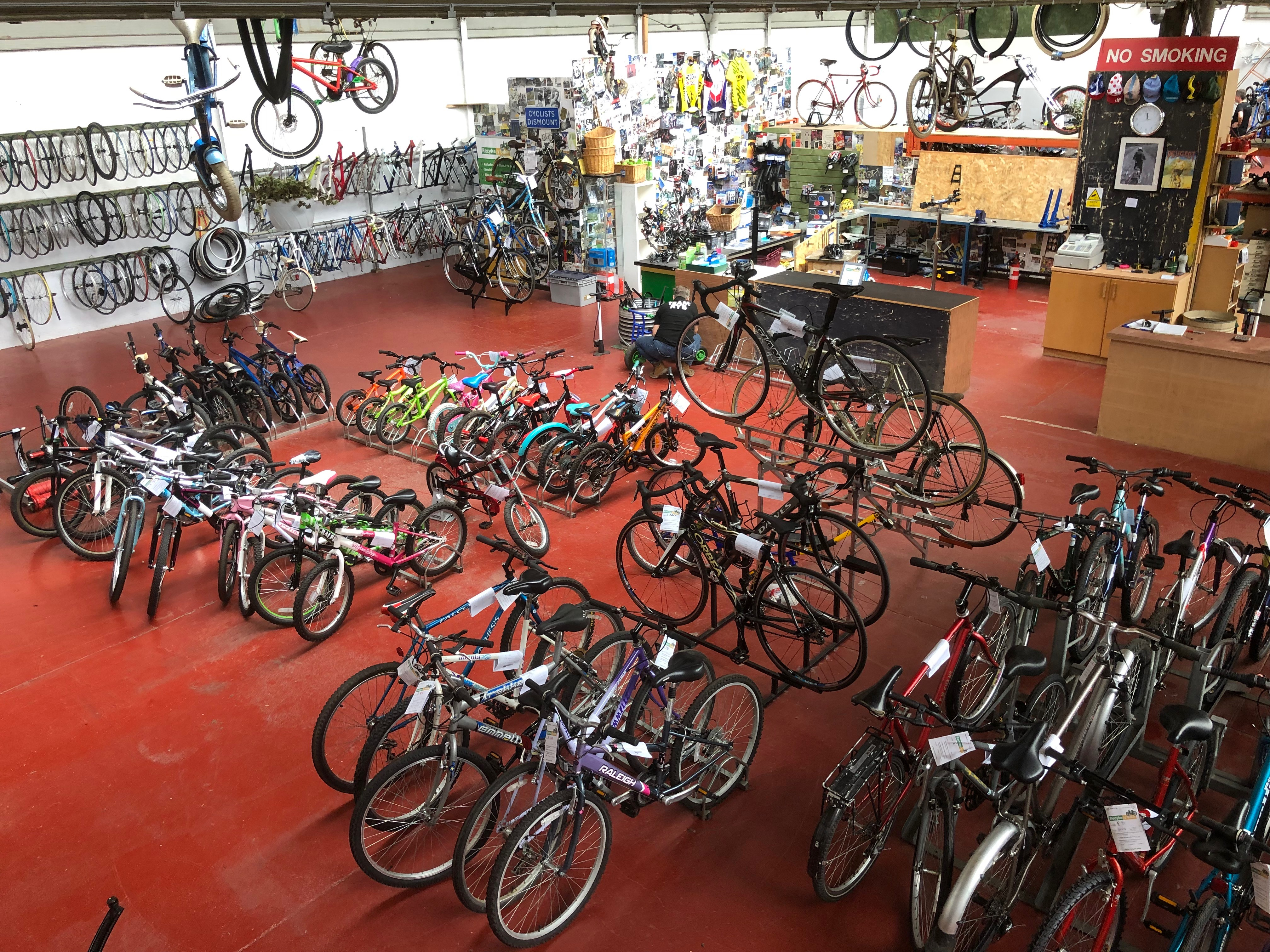 Recyke y'bike | A North East charity thats a great place to